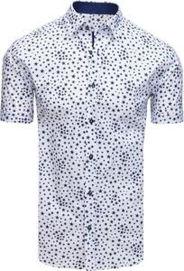 Koszula Dstreet z kołnierzykiem button down z bawełny z krótkim rękawem