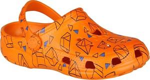 Pomarańczowe buty dziecięce letnie Coqui