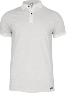 Koszulka polo Just yuppi z tkaniny z krótkim rękawem