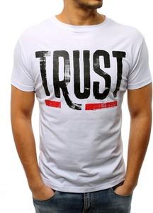 T-shirt Dstreet z bawełny w młodzieżowym stylu z krótkim rękawem