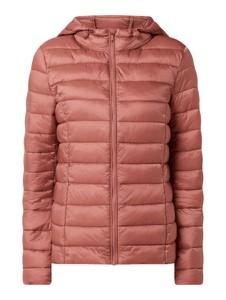 Różowa kurtka Montego z kapturem krótka