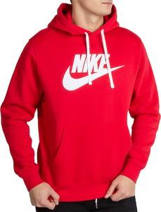 Czerwona bluza Nike z bawełny