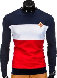 Czerwona bluza ombre clothing