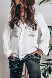 Koszula IVET z długim rękawem