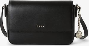 Czarna torebka DKNY średnia