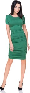 Sukienka Tessita z okrągłym dekoltem dopasowana mini