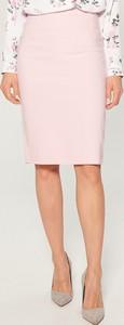 Różowa spódnica Mohito