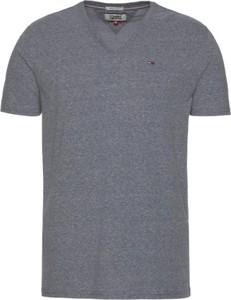 T-shirt Tommy Hilfiger w stylu casual z bawełny z krótkim rękawem