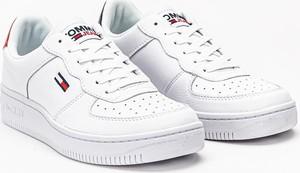 Buty sportowe Tommy Jeans z płaską podeszwą w sportowym stylu sznurowane