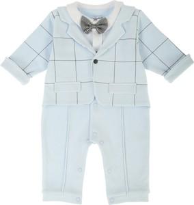 Sofija Pajac niemowlęcy OLAF Z MARYNARKĄ niebieski NewYorkStyle