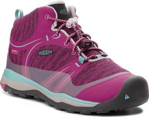 Fioletowe buty trekkingowe Keen