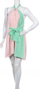 Różowa sukienka Cheyenne mini