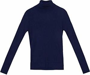 Niebieski sweter Dolores Promesas w stylu casual