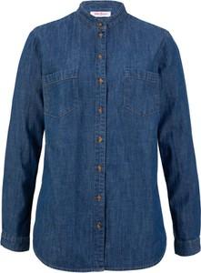 Bluzka bonprix John Baner JEANSWEAR w stylu vintage z długim rękawem
