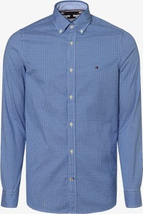 Koszula Tommy Hilfiger w stylu casual z bawełny z kołnierzykiem button down