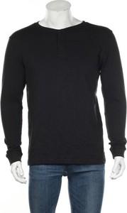 Czarny t-shirt Mantaray z długim rękawem