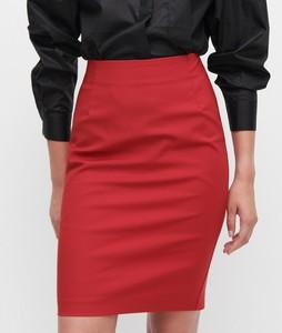 Czerwona spódnica Reserved mini