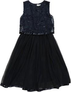 Granatowa sukienka dziewczęca Name it