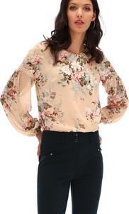 Bluzka POTIS & VERSO z tkaniny z okrągłym dekoltem