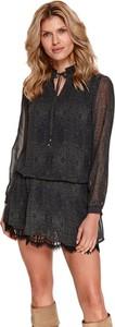 Sukienka Top Secret w stylu casual z dekoltem w kształcie litery v koszulowa