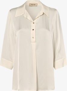 Bluzka Mos Mosh z dekoltem w kształcie litery v w stylu casual z satyny