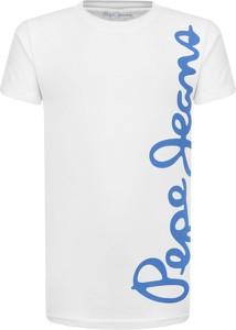 Koszulka dziecięca Pepe Jeans z krótkim rękawem z bawełny