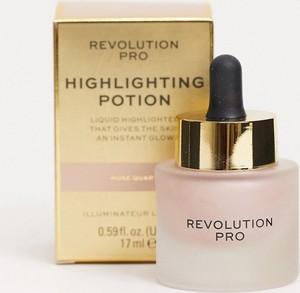 Revolution Pro – Highlighting Potion – Rozświetlacz – Rose Quartz-Złoty