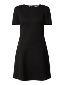 Sukienka Tommy Hilfiger z krótkim rękawem mini z okrągłym dekoltem