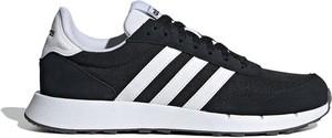 Buty sportowe Adidas z tkaniny z płaską podeszwą sznurowane