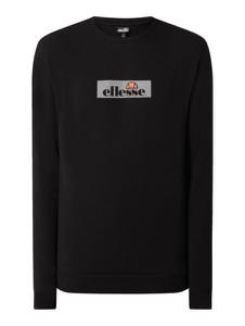 Czarna bluza Ellesse z bawełny