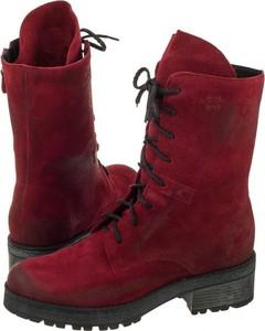 8830a2e9 Czerwone buty zimowe, kolekcja wiosna 2019