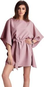 Różowa sukienka Ivon mini
