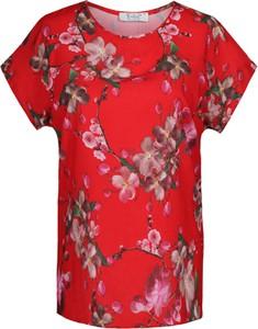 Bluzka Fokus z krótkim rękawem w stylu casual