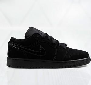 Czarne buty sportowe dziecięce Jordan