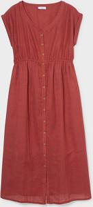YESSICA C&A Sukienka do karmienia piersią, Czerwony, Rozmiar: 34