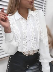 Bluzka Sandbella w stylu casual z dekoltem w kształcie litery v