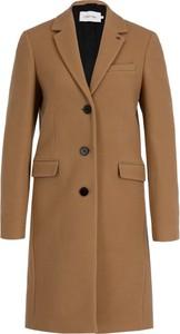 Brązowy płaszcz Calvin Klein