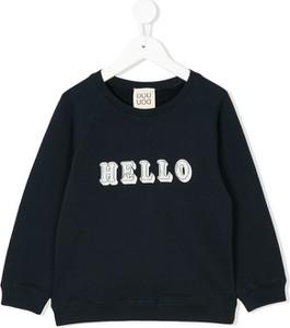 Czarna bluza dziecięca Douuod Kids