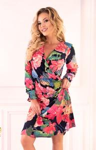 Sukienka Ptakmoda.com mini w stylu casual z dekoltem w kształcie litery v