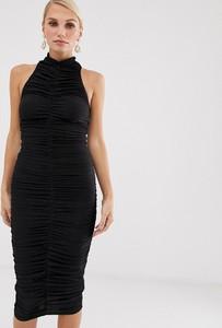 Czarna sukienka Ax Paris bez rękawów midi