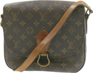 Brązowa torebka Louis Vuitton
