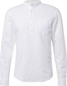 Koszula Pier One z klasycznym kołnierzykiem z bawełny z długim rękawem