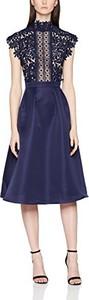 Granatowa sukienka Little Mistress