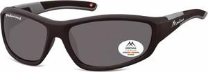 Stylion Sportowe okulary czarne z Polaryzacją MONTANA SP311