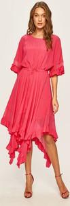 Sukienka Twinset z jedwabiu