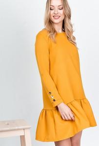Sukienka ZOiO.pl z bawełny rozkloszowana mini