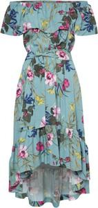 Sukienka Kasia Miciak design z krótkim rękawem