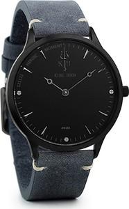 Zegarek KING HOON na pasku - czarna tarcza