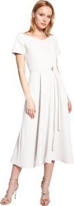 Sukienka Lanti trapezowa z krótkim rękawem