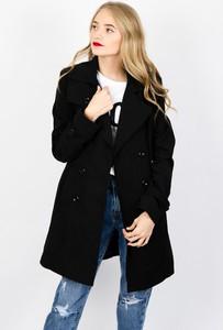 Czarny płaszcz Olika